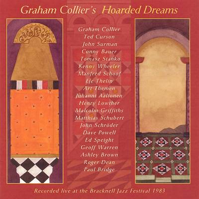 Graham Collier - Hoarded Dreams cover