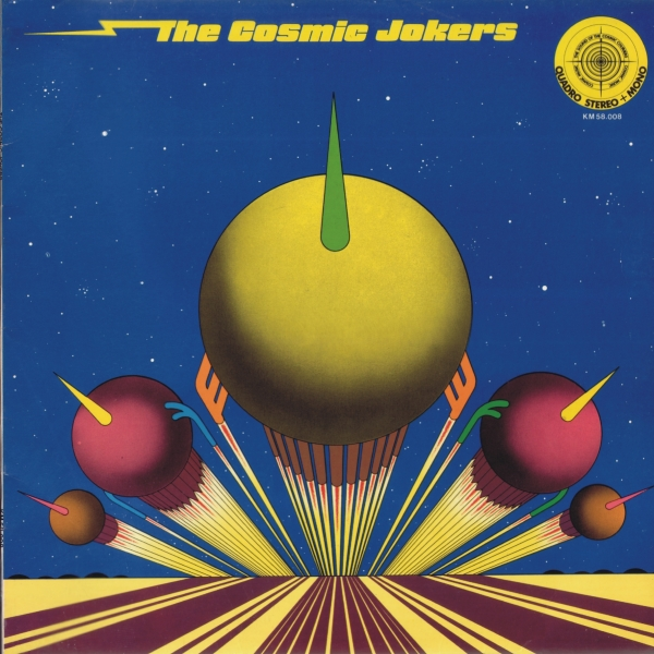 The Cosmic Jokers Cover art