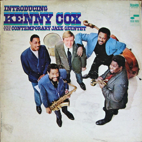 Introducing Kenny Cox and the Contemporary Jazz Quintet (1968 cover)
