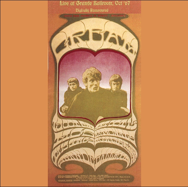 Live at Grande Ballroom, Oct. '67 Cover art