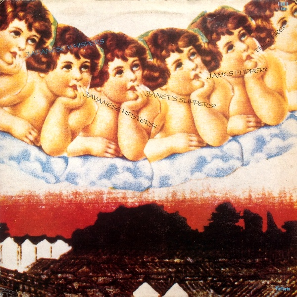 The Cure - Japanese Whispers cover