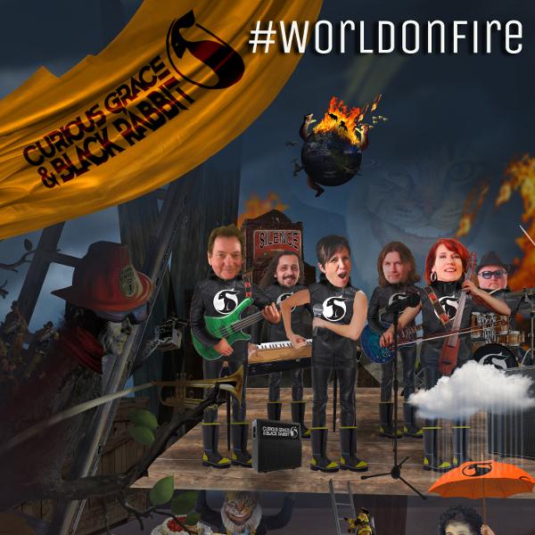 Curious Grace & Black Rabbit — World on Fire