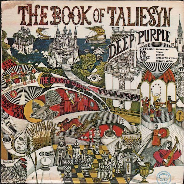 Deep Purple — The Book of Taliesyn