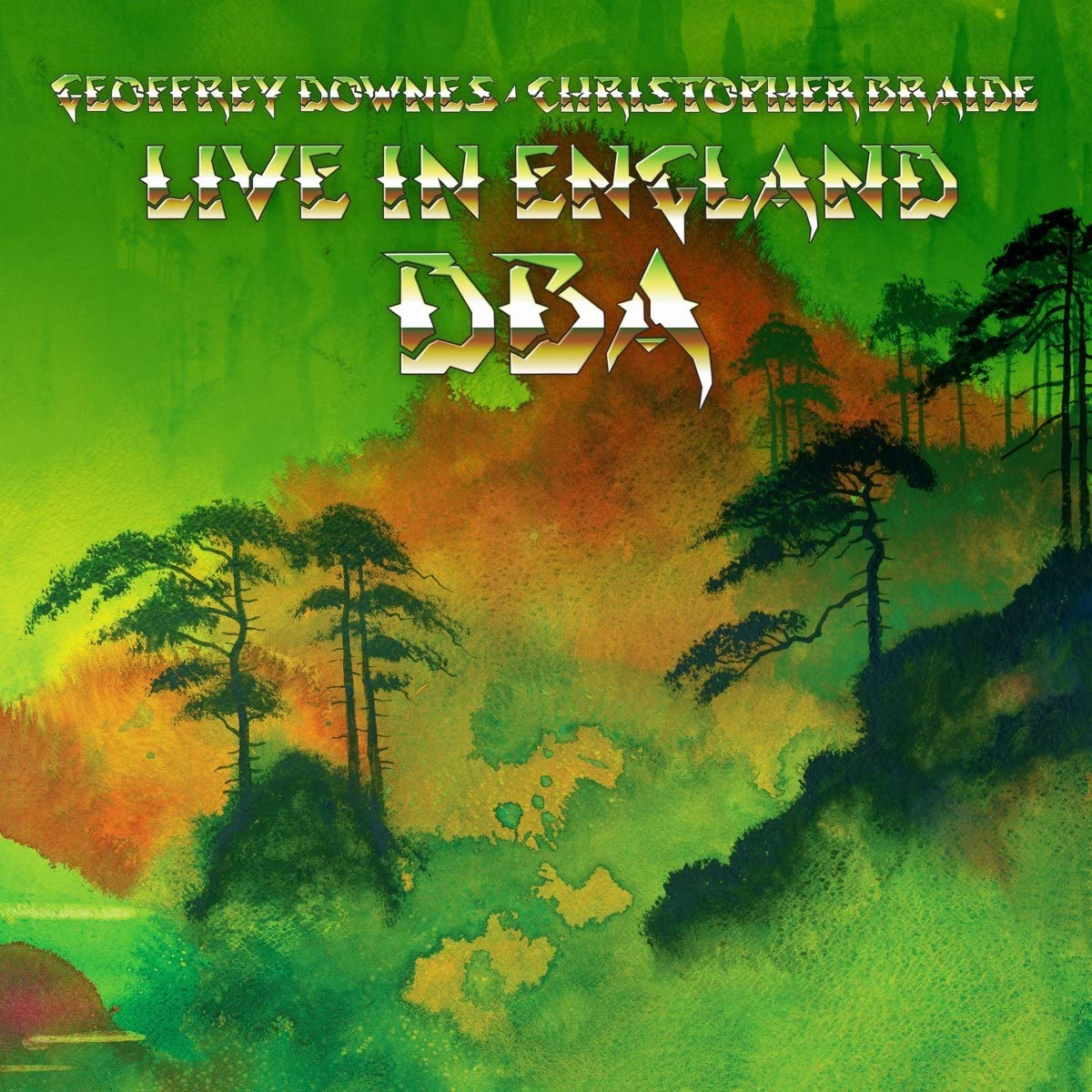 Live in England Cover art