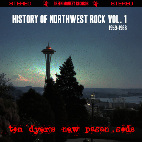 History of Northwest Rock Vol. 1 1959-1968 Cover art