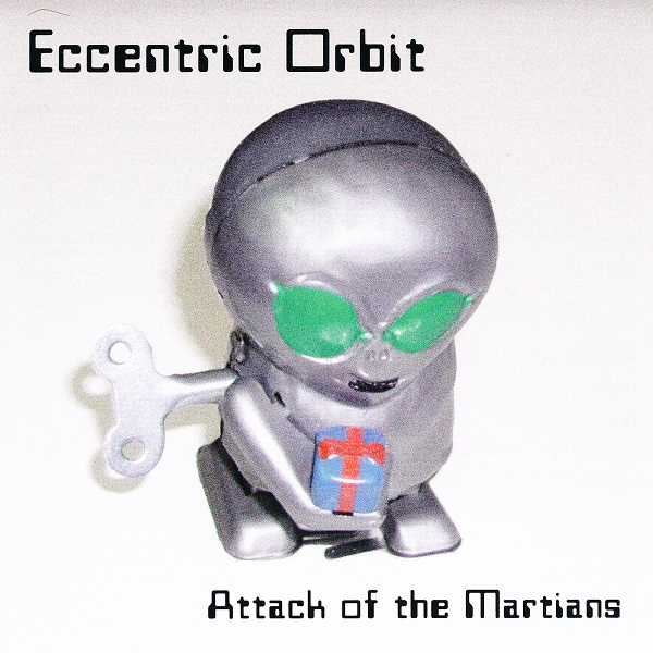 Attack of the Martians Cover art