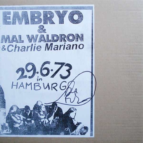 Embryo / Mal Waldron / Charlie Mariano — 2.6.73 in Hamburg