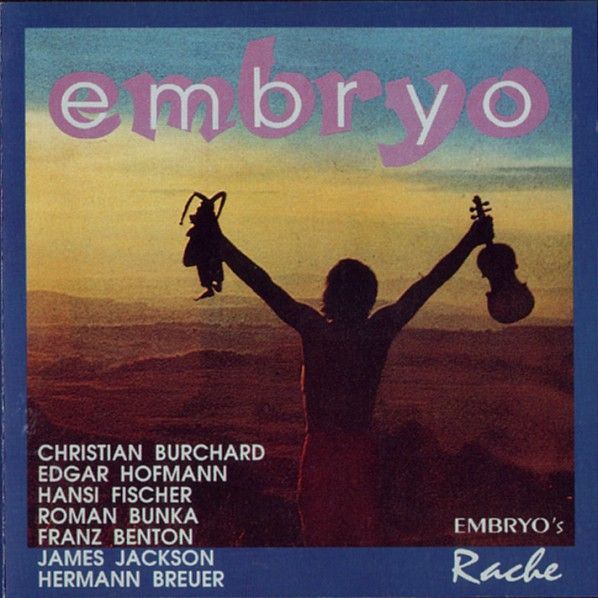 Embryo's Rache Cover art
