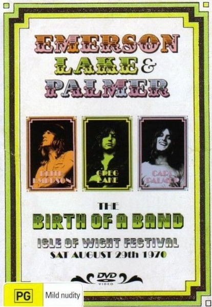 The Birth of a Band - Isle of Wight Festival 1970 Cover art