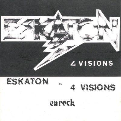 Eskaton - 4 Visions cassette cover