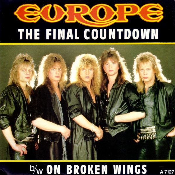 Europe - Final Countdown single cover