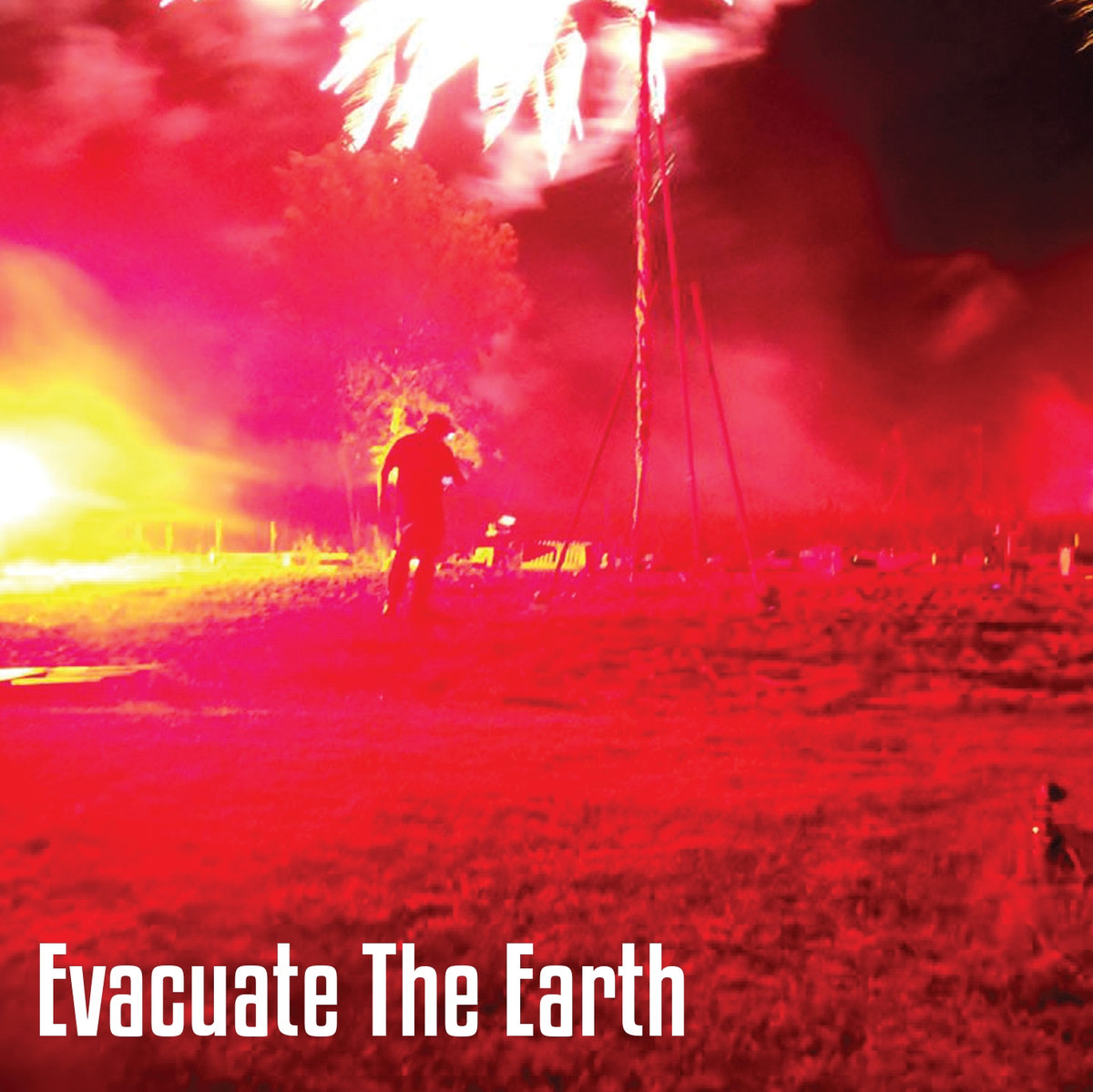 Evacuate the Earth Cover art
