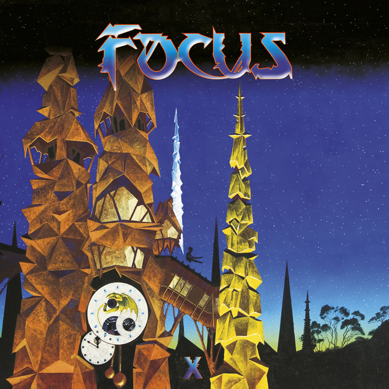 Focus X Cover art