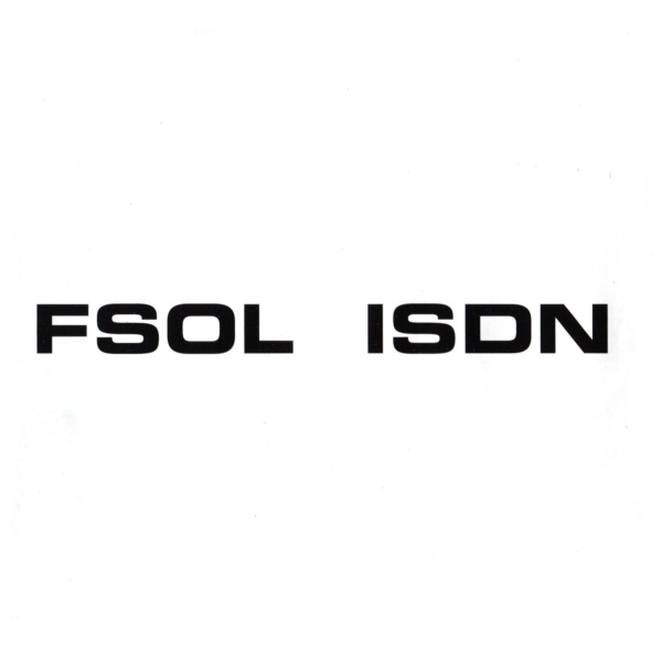 Future Sound of London -ISDN album cover