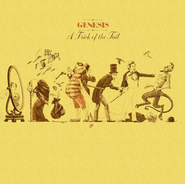 Genesis - A Trick of the Tail cover