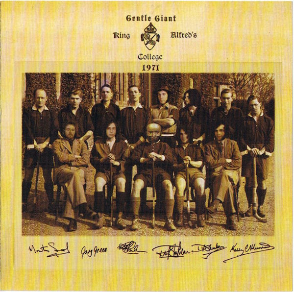 Gentle Giant — King Alfred's College