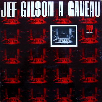 Jef Gilson Big Band — Jef Gilson A Gaveau