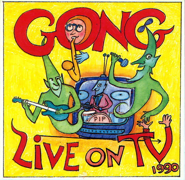 Gong - Live on TV cover