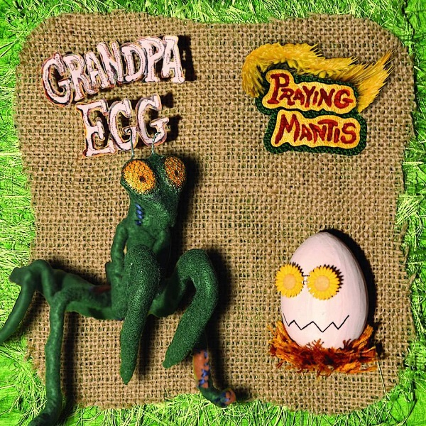 Praying Mantis Cover art