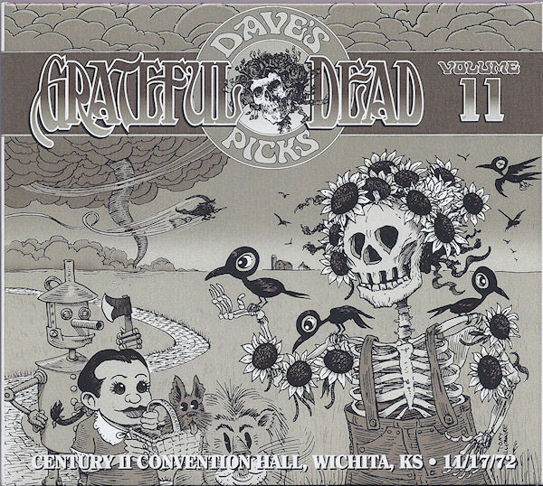 Dave's Picks Volume 11: Century II Convention Hall, Wichita, KA 11/17/72 Cover art