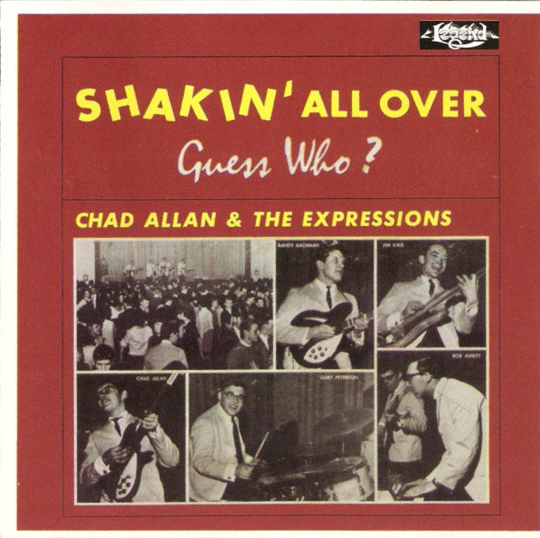 Guess Who? - Chad Allen & the Expressions — Shakin' All Over