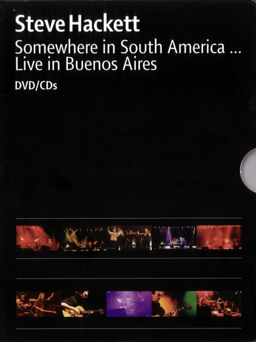Steve Hackett — Somewhere in South America... Live in Buenos Aires