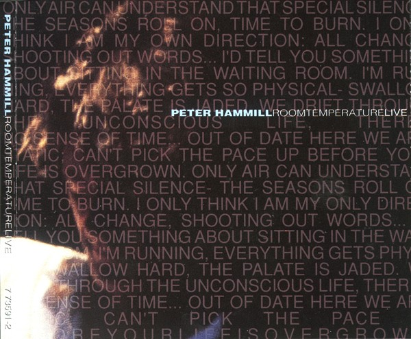Peter Hammill — Room Temperature Live