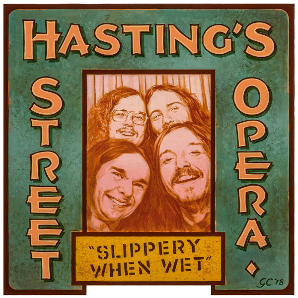 Hasting's Street Opera — Slippery When Wet