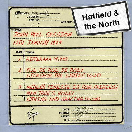 Hatfield and the North — John Peel Session (12th January 1973)