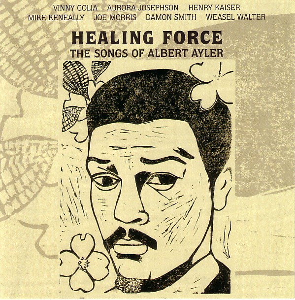 Music of Albert Ayler Cover art