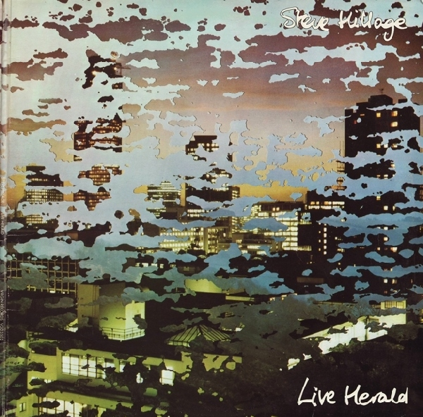 Steve Hillage - Live Herald cover