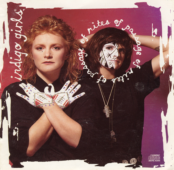 Indigo Girls - Nomads Indians Saints album cover