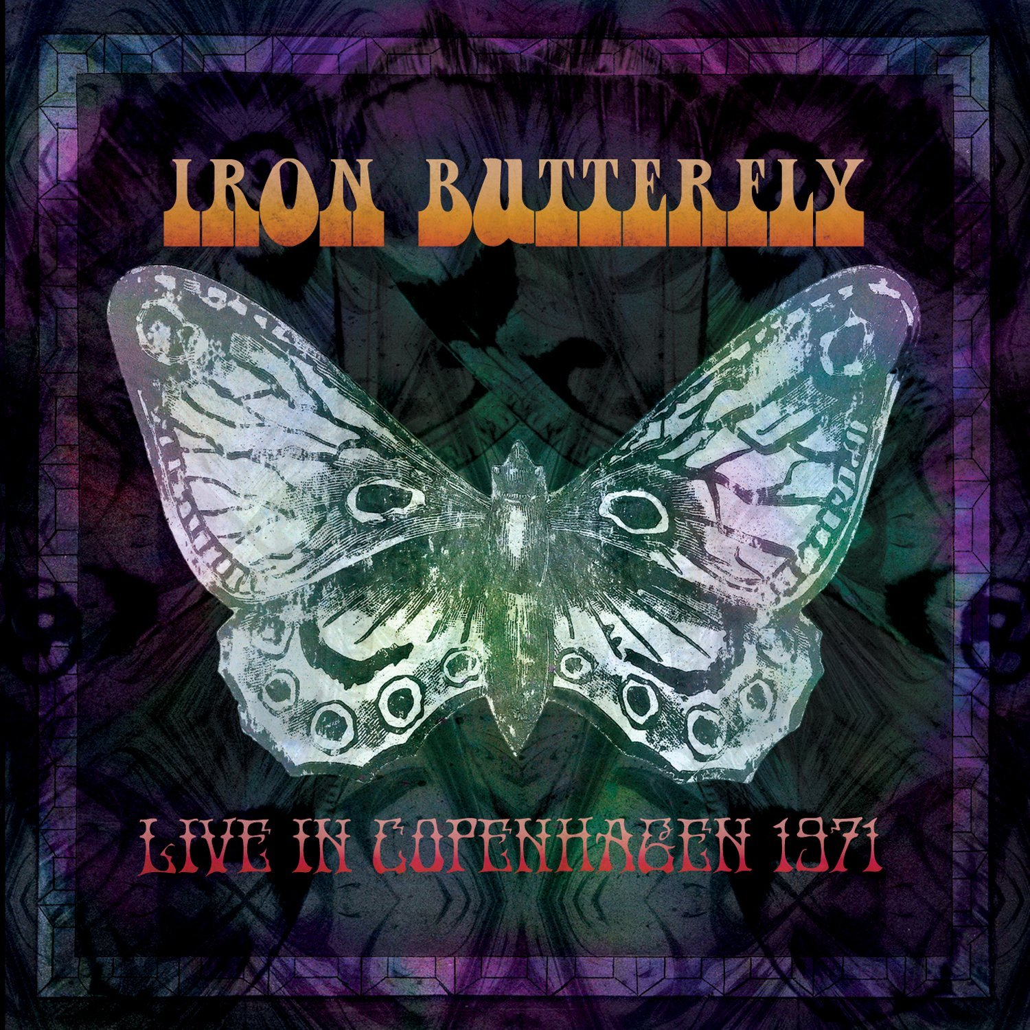 Live in Copenhagen 1971 Cover art