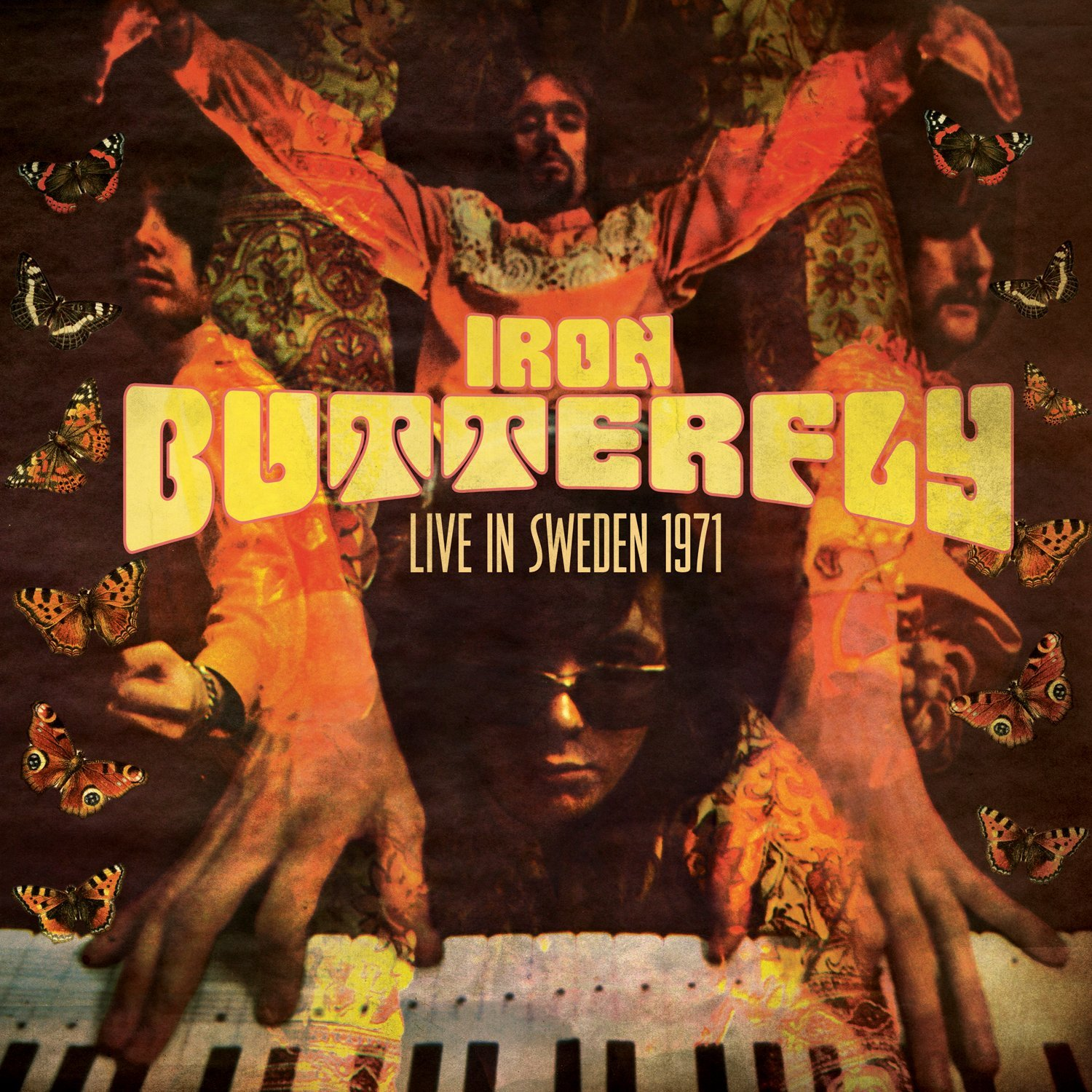 Live in Sweden 1971 Cover art