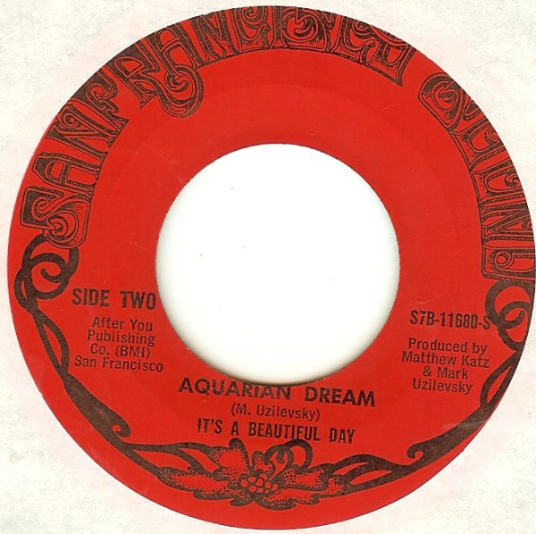 It's a Beautiful Day Aquarian Dream single