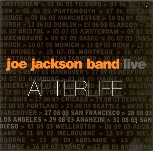Joe Jackson Band — Afterlife