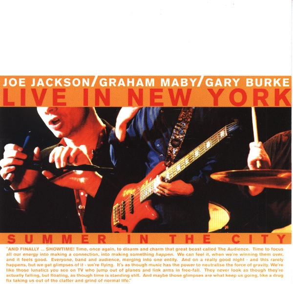 Summer in the City: Live in New York Cover art
