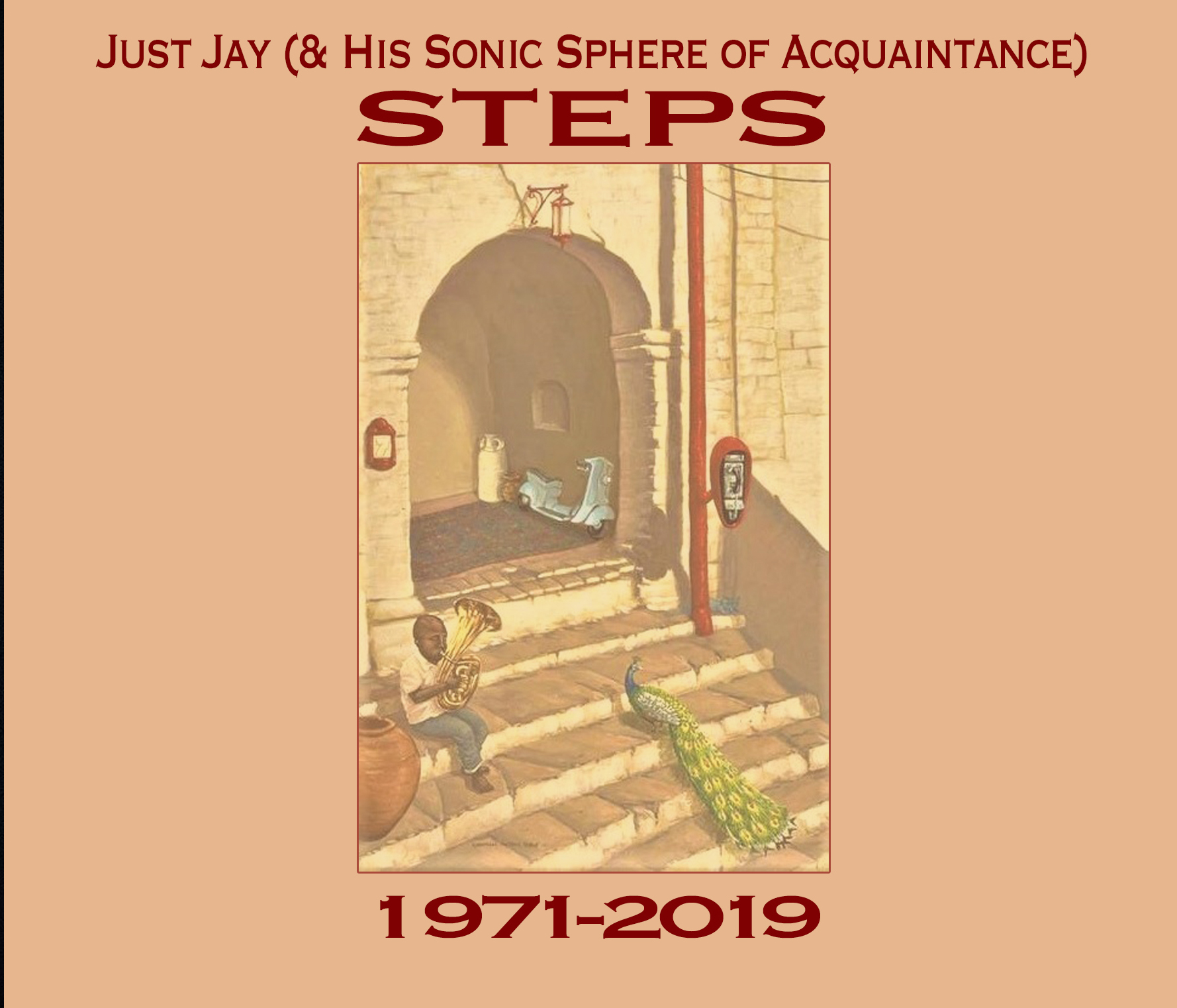 Just Jay (& His Sonic Sphere of Acquaintance) - Steps 1971-2019 Cover art