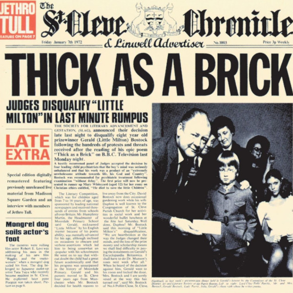 Jethro Tull — Thick as a Brick