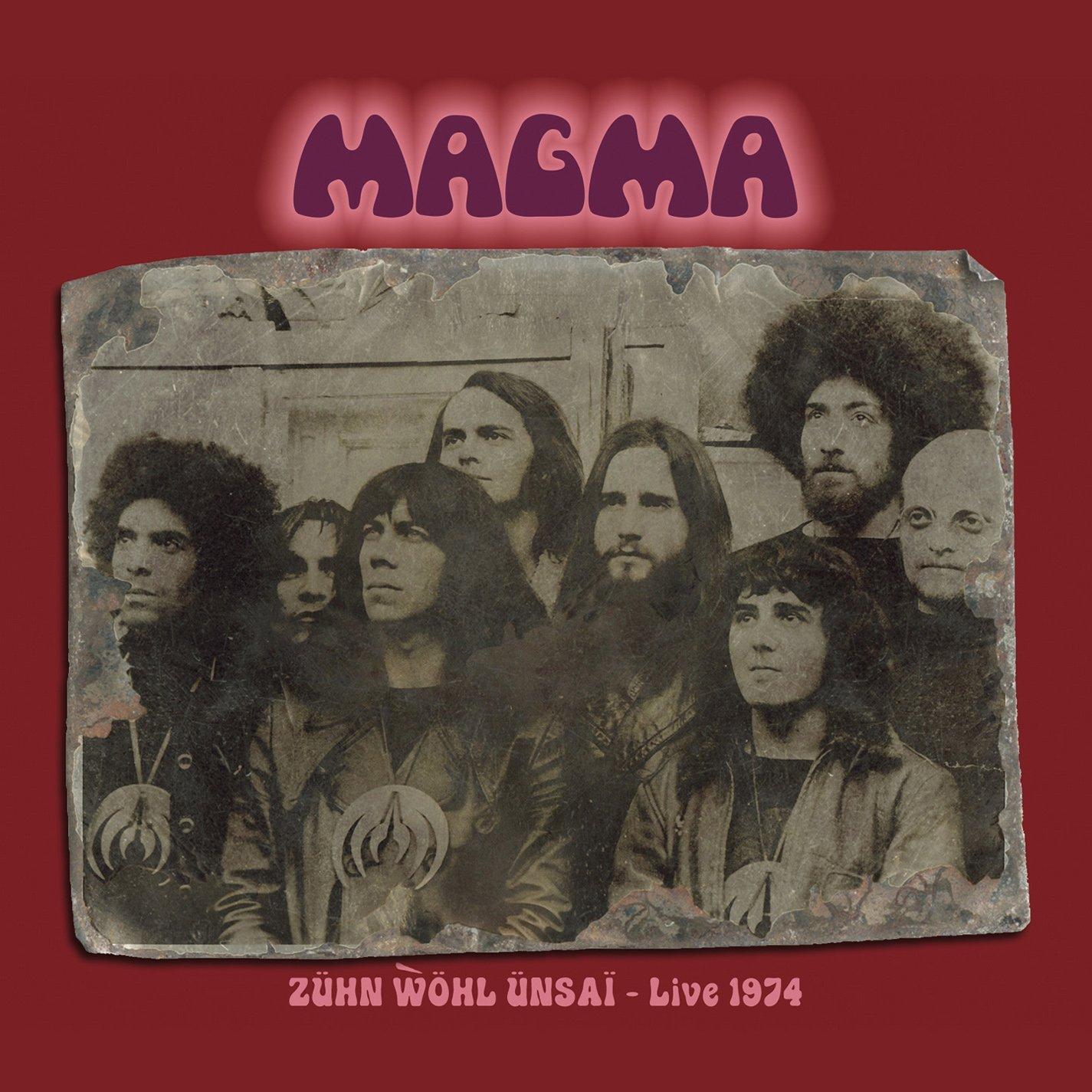 Zühn Wöhl Ünsai – Live 1974 Cover art