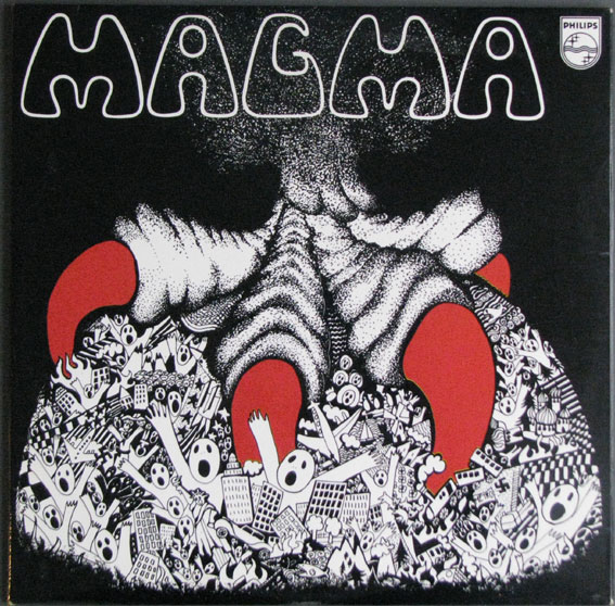 Magma cover art