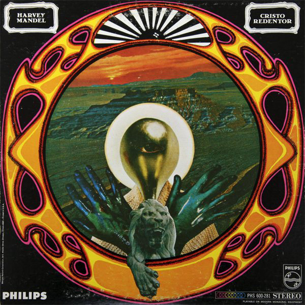 Harvey Mandel - Cristo Redentor cover art