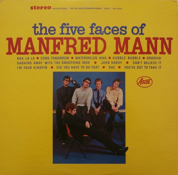 Manfred Mann — The Five Faces of Manfred Mann