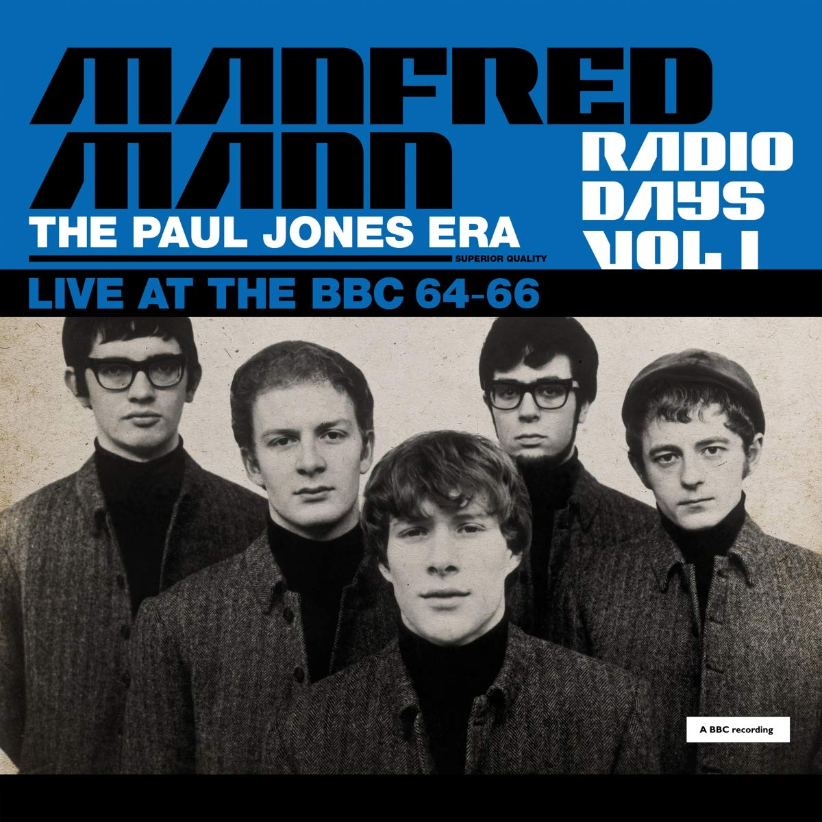 Manfred Mann — Radio Days Vol. 1 - The Paul Jones Era