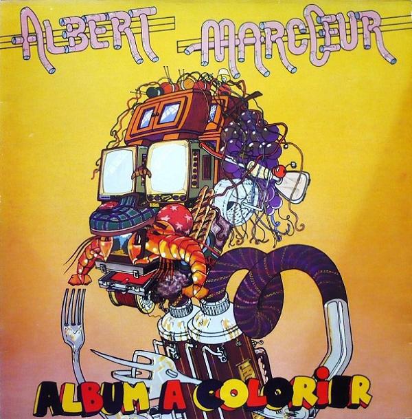 Albert Marcœur — Album a Colorier