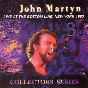 Live at the Bottom Line, New York 1983 Cover art