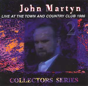 Live at The Town and Country Club 1986 Cover art