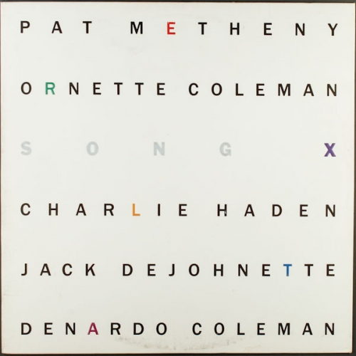 Pat Metheny / Ornette Coleman — Song X