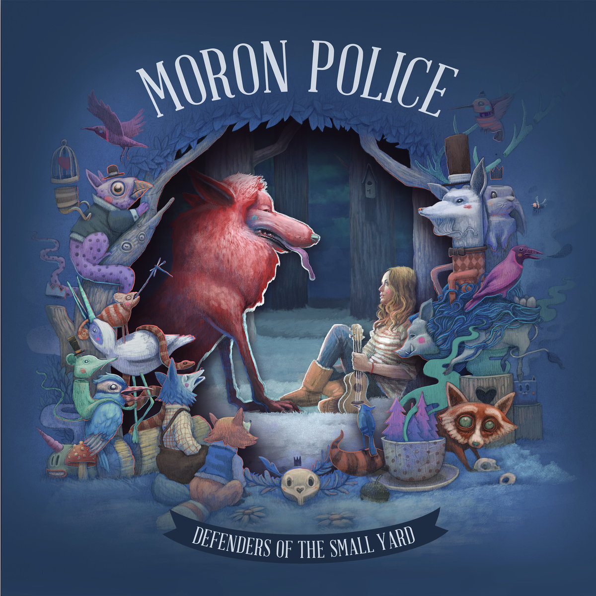 Moron Police — Defenders of the Small Yard
