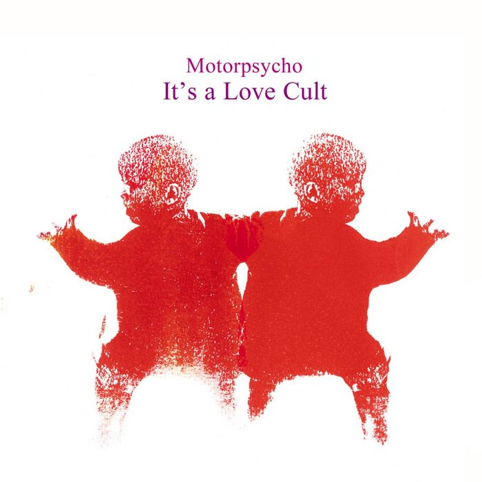 It's a Love Cult Cover art